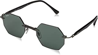 راي بان نظارة شمسية للجنسين ، عدسات ذات لون رمادي