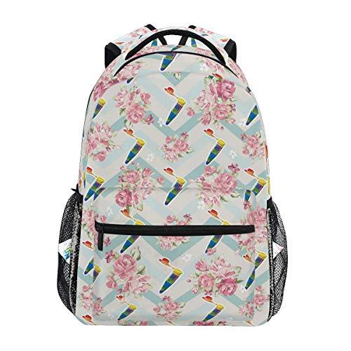 Backpack Science Pride College School Gift Student Lightweight Backpack Casual Durable Unique Travel Printed Shoulder Bag Stylish Bookbag