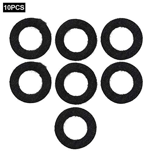 Lowest Prices! lahola Trumpets Accessory 10PCS Small Key Trumpet Felt Washers Cushion Pad Musical Pa...