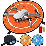 Drone Landing Pad, Universal Waterproof D 75 cm / 30 '' Pads portátiles de Aterrizaje Plegables para RC Drones Helicopter, PVB Drones, dji Mavic Pro Phantom 2/3/4 Pro, Antel Robotic