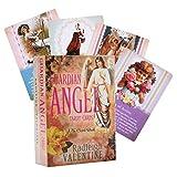 YOYOTECH 20211 Nuevo 78pcs Cartas de Tarot de Ángel de la Guarda en inglés Completo Orientación para Fiestas al Aire Libre Adivinación Juego de Mesa de Destino Oraclee Cards Deck