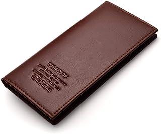 BeniMen's long wallet business soft bag-Light coffee