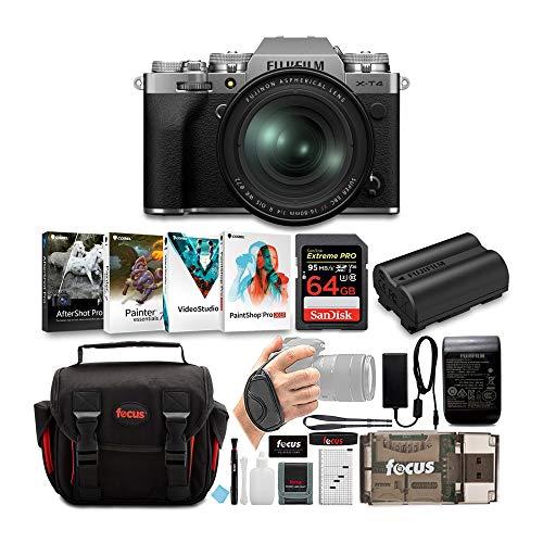 Fujifilm X-T4 Mirrorless Digital Camera with XF...