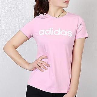 adidas 阿迪达斯女装上衣 春季 运动休闲时尚圆领短袖跑步针织青年潮流透气舒适T恤