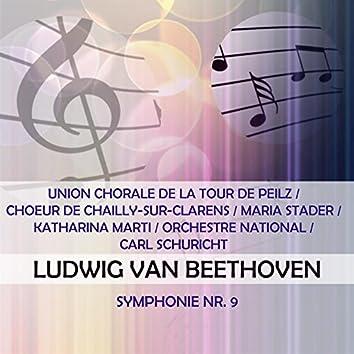 Union Chorale De La Tour De Peilz / Choeur De Chailly-Sur-Clarens / Maria Stader / Katharina Marti / Orchestre National / Carl Schuricht Play: Ludwig Van Beethoven: Symphonie NR. 9 (Live)