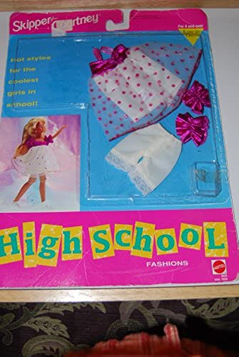 Skipper Courtney High School Fashions  3629 (1992) by Barbie by Barbie