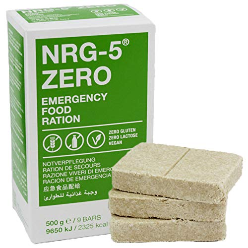 Emergency Food NRG-5® ZERO Notration - glutenfrei
