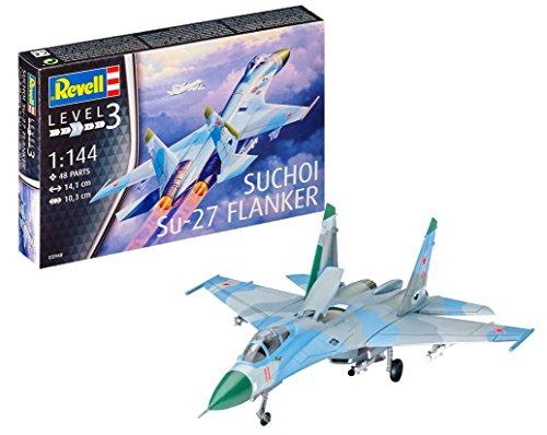 Revell Maqueta de avión 1: 144–sukhoi su de 27Avión en Escala 1: 144, Nivel 3, réplica exacta con Muchos Detalles, 03948