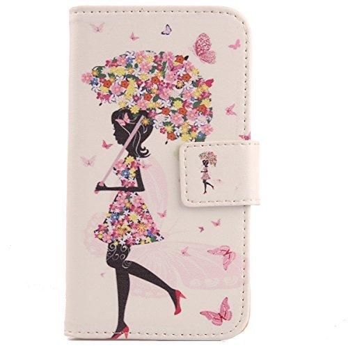 Lankashi PU Flip Leder Tasche Hülle Hülle Cover Schutz Handy Etui Skin Für Archos 40 helium 4