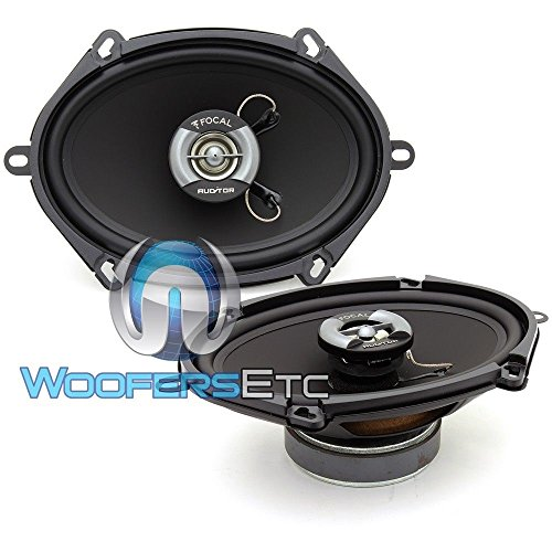 Focal R-570C 5' x 7' 6'x8' 120W RMS 2-Way Auditor Series Coaxial Speakers