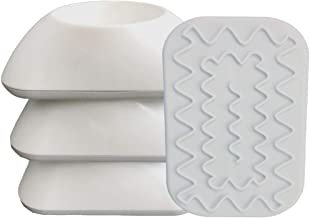Vmaisi Baby Gate Wall Cup Protector Make Pressure Mounted Safety Gates More Stable - Wall Damage-Free - Fit for Doorway, Door Frame, Baseboard - Work on Dog & Pet Gates