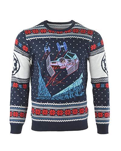 Oficjalne swetry świąteczne Star Wars Battle of Yavin dla mężczyzn lub kobiet