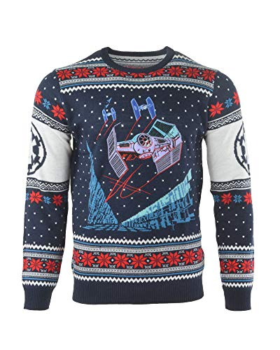 Rubberroad Star Wars T.Fighter: BoY Xmas Pullover M - Not Machine Specific