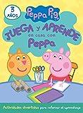 Juega y aprende en casa con Peppa (3 años). Tu cuaderno de vacaciones (Peppa Pig)