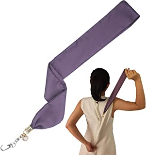 Purple Dress and Boots Zipper Puller Jewelry Design Zipper Helper Zip Up and Down with Easy Sip Aid Hook Puller by Yourself