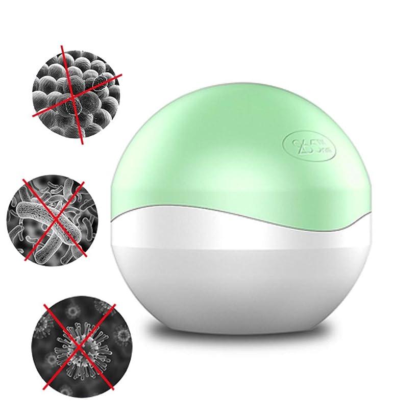 補償生態学現代の265nm LED紫外線小型消毒箱の小さい項目携帯用殺菌箱,Green