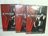 WEIDER X-FACTOR 3 DVD SET (2009) ABS WORKOUT, TOTAL BODY & EXPLOSION WORKOUT