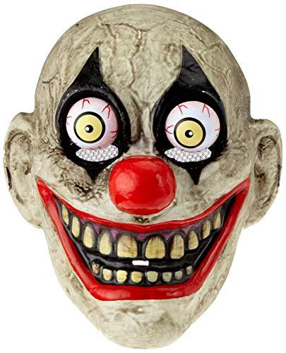 Rubies- Mascara The Clown con Ojos Moviles, Multicolor, Talla única (S5144)