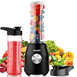 Arcbt Professional Smoothie Blender, 400W Countertop Blender with 2 x 20.3oz Tritan BPA-Free Travel...