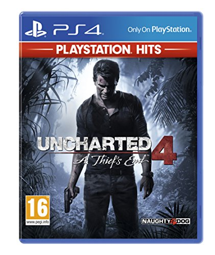 Uncharted 4: A Thief's End - PlayStation Hits - PlayStation 4 [Importación inglesa]