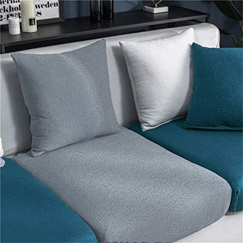 C/N Funda de cojín Asiento para sofá elástica Fundas para sofá Cojines Impermeable Cubre Sofa Cojines de Asiento Protectora para sofá Fundas de Sillón Asientos