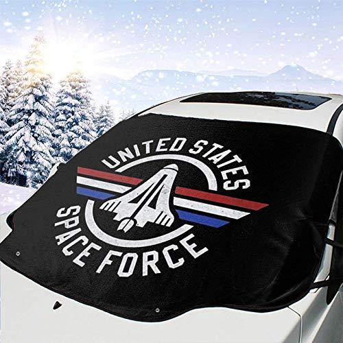 MOLLUDY Protector para Parabrisas Espacio de los Estados Unidos Protector para Parabrisas con imán Cubierta de Parabrisas Coche Protege de Rayos Antihielo y Nieve