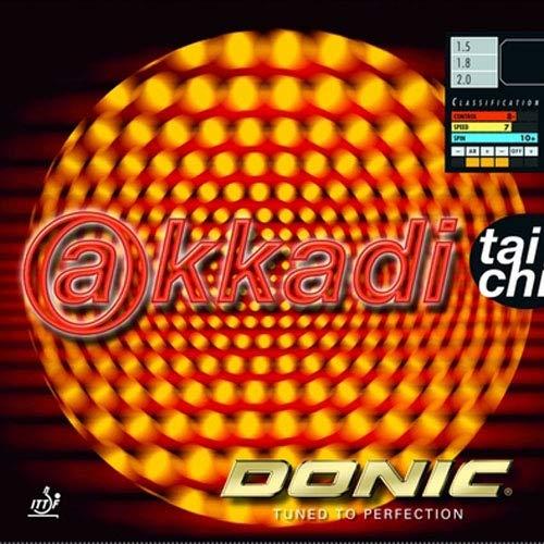 DONIC Belag Akkadi Taichi Optionen 1,8 mm, schwarz