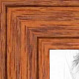 ArtToFrames 1WOM0066-80206-YHNY-3x5 3 by 5-Inch Picture Frame, 1.5-Inch Wide, Honey Stain on Red Oak