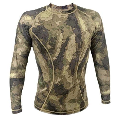 Webetop Maglietta a maniche lunghe tattico Quick Dry Sport T-shirt Tees, M, AU