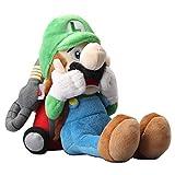 uiuoutoy Super Mario Luigi's Mansion Scared Luigi with Strobulb Plush 10'