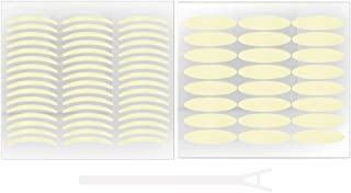 PIXNOR Onzichtbare Ooglid Tape 2 Sets Ooglid Tape Stickers Instant Eye Lift Strips Ooglid Make Stickers Voor Hooded Hangen...