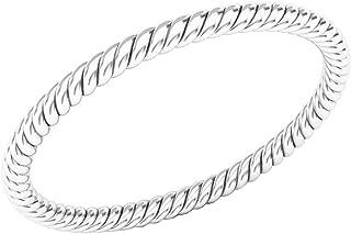14K Gold Ladies Bridal Rope Style Wedding Band Ring