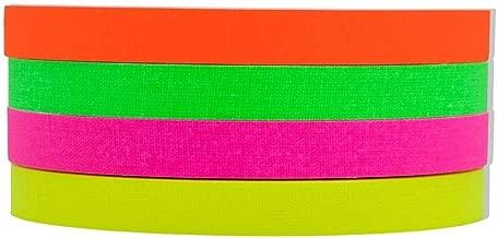 4 Pack Half Inch UV Blacklight Reactive Fluorescent Gaffer Tape 4 x 20 Yards