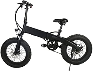 LYXQQ Electric Folding Bicycle, Adults 350W Folding Electric Bikes 20 Inch Mini Bicycle Lightweight Alloy Folding Bike Unisex Folding Bike, Lithium-Ion Battery, Speed: 20-30KM (H)