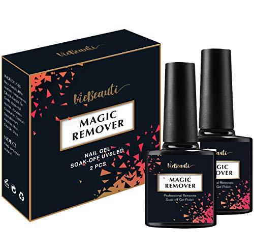 VieBeauti New Professional Magic Gel Nail Polish Remover, 0.52 Fl.Oz