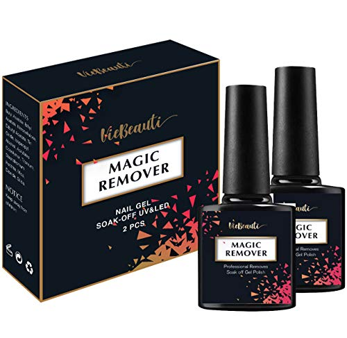 VieBeauti New Professional Magic Gel Nail Polish Remover, 0.52 Fl.Oz