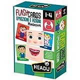 Headu- Flashcards Montessori Emozioni e Azioni, IT23103...