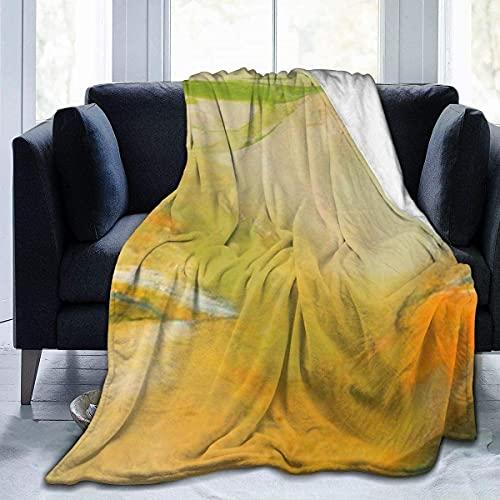 Microfleece-Decke im Wind geblasene, ultraweiche, leichte, kuschelige, warme Mikrofaser-Fuzzy-Decke für das Wohnzimmer auf der Couch für alle Jahreszeiten - 50 '* 40'