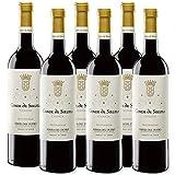 6 botellas vino tinto crianza Ribera del Duero. Conde de Siruela Crianza.