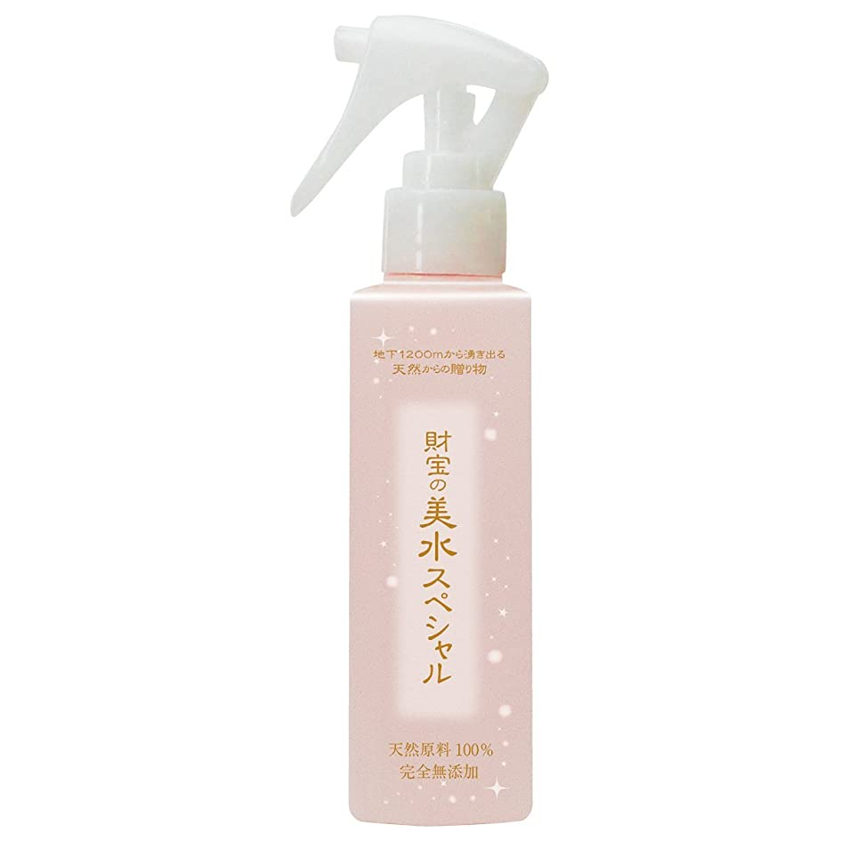 心理的ミュージカルフリル財宝 完全 無添加 化粧水 美水 スペシャル 140ml