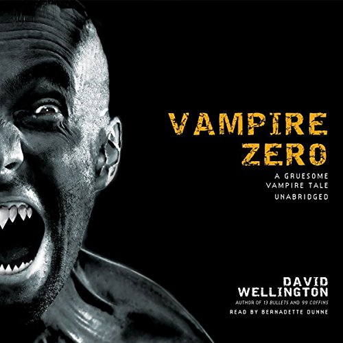 Vampire Zero audiobook cover art