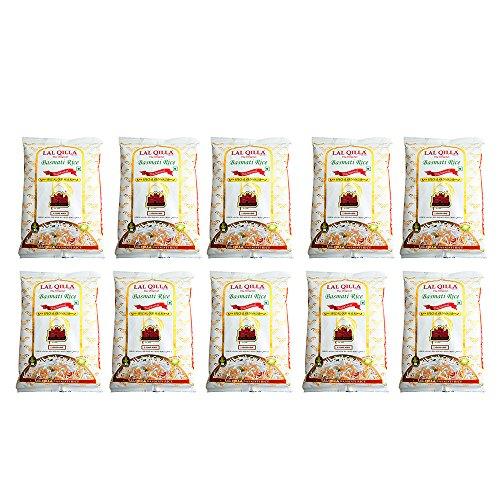 バスマティライス インド産 LAL QILLA 10kg 【1kg×10袋】 Basmati Rice 長粒米 インディカ米 香り米 業務用