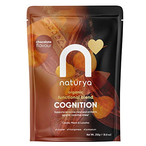 NATURYA Organic Cognition Blend, 1 Count