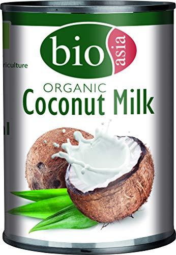 Bioasia Leche De Coco Bio, Cont. De Grasa, Aprox. 18% 400 ml (9819)