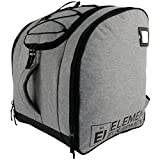 Element Equipment Boot Bag Deluxe Snowboard Ski Backpack Heather Grey/Black