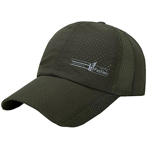 Gorra de Sol SUNNSEAN Sombreros de Moda Deportes al Aire Libre Golf Montañismo Mallas Respirable Casualles Perfecto Regalo Sun Hat de Béisbol