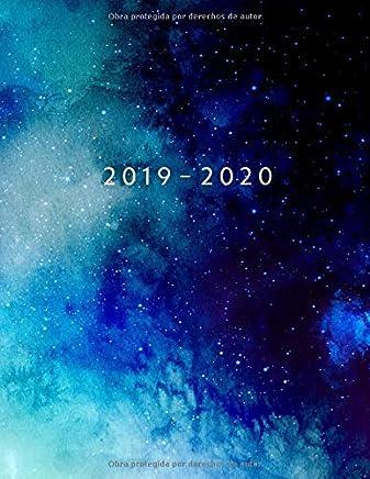 Agenda MAYO 2019 - ABRIL 2020: Vista Semanal con Horario | 1 Semana en 2