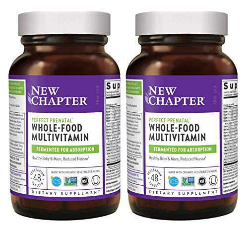 New Chapter Perfect Prenatal Multi Vitamin Made with Organic...