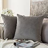 MIULEE Housse de Coussin en Velours Décoratif Canapé outgeek Home Decor Taie d'oreiller Super Doux Decoration Maison Salon...