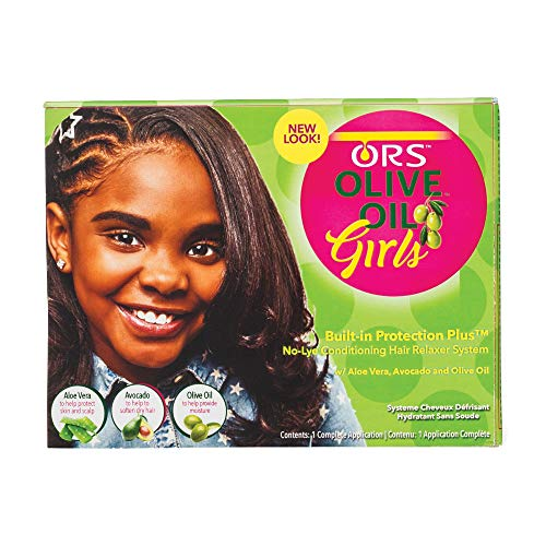 ORS Olive Oil Girls No-Lye Conditioning Hair Relaxer System (Pack of 1)